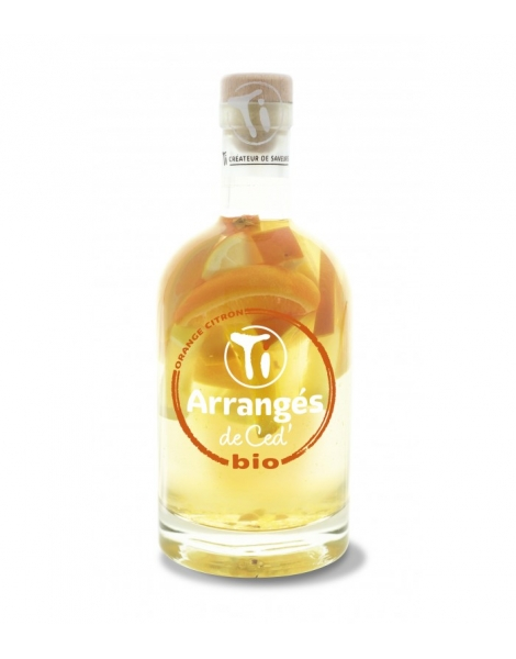 TI'ARRANGES DE CED' ORANGE CITRON BIO